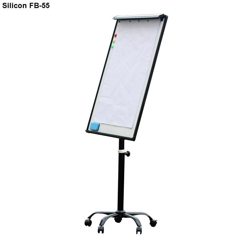 Bảng Flipchart Silicon FB-55 (70x100) chân di động cao cấp