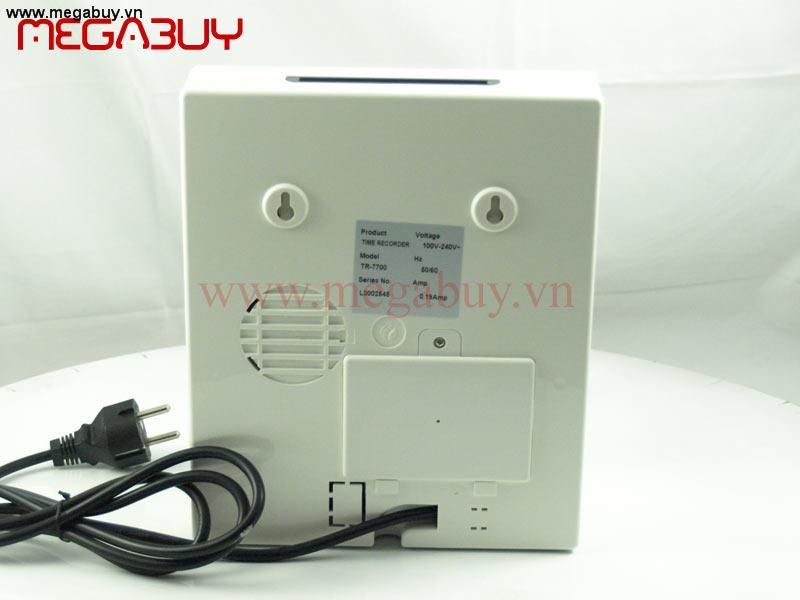 Máy chấm công thẻ giấy Silicon TR-7700