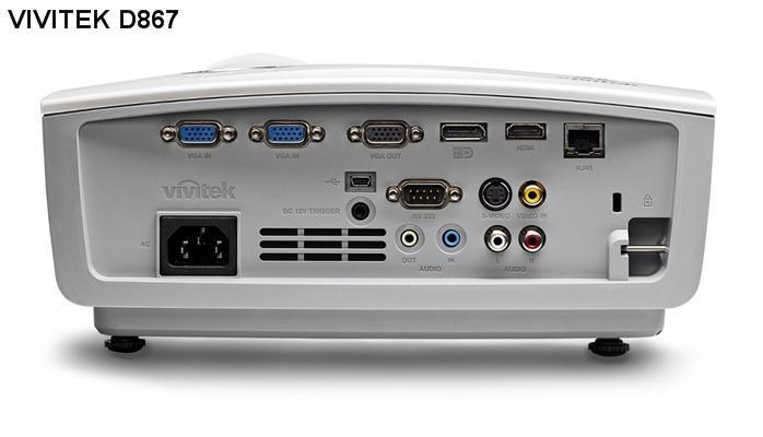 Máy chiếu đa năng Vivitek D867