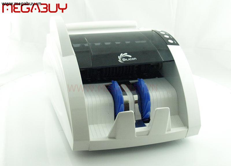 Máy đếm tiền Silicon MC-A31W ( Màu trắng )