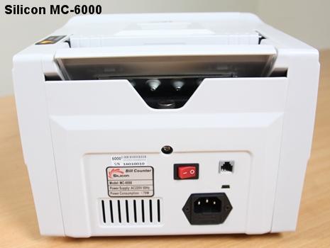 Máy đếm tiền thế hệ mới Silicon MC-6000