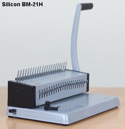 Máy đóng sách gáy nhựa Silicon BM-21H