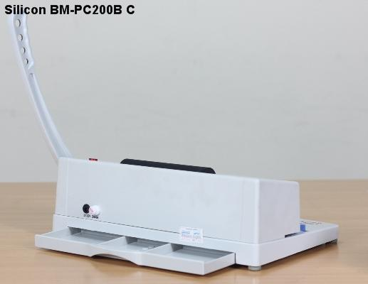 Máy đóng sách gáy xoắn cuộn Silicon BM-PC200B