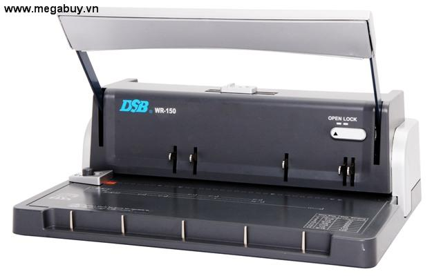 Máy đóng sách gáy xoắn kẽm DSB WR-150