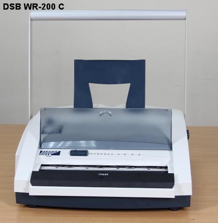 Máy đóng sách gáy xoắn kẽm DSB WR-200