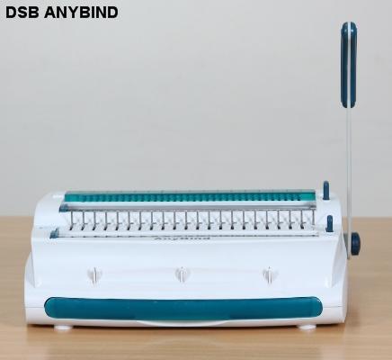 Máy đóng sách gáy xoắn nhựa và kẽm DSB ANYBIND
