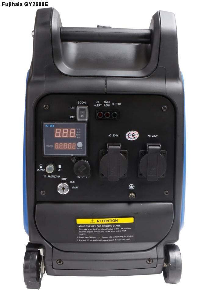 Máy phát điện biến tần kỹ thuật số FUJIHAIA GY2600E (2.3/2.6 KVA)