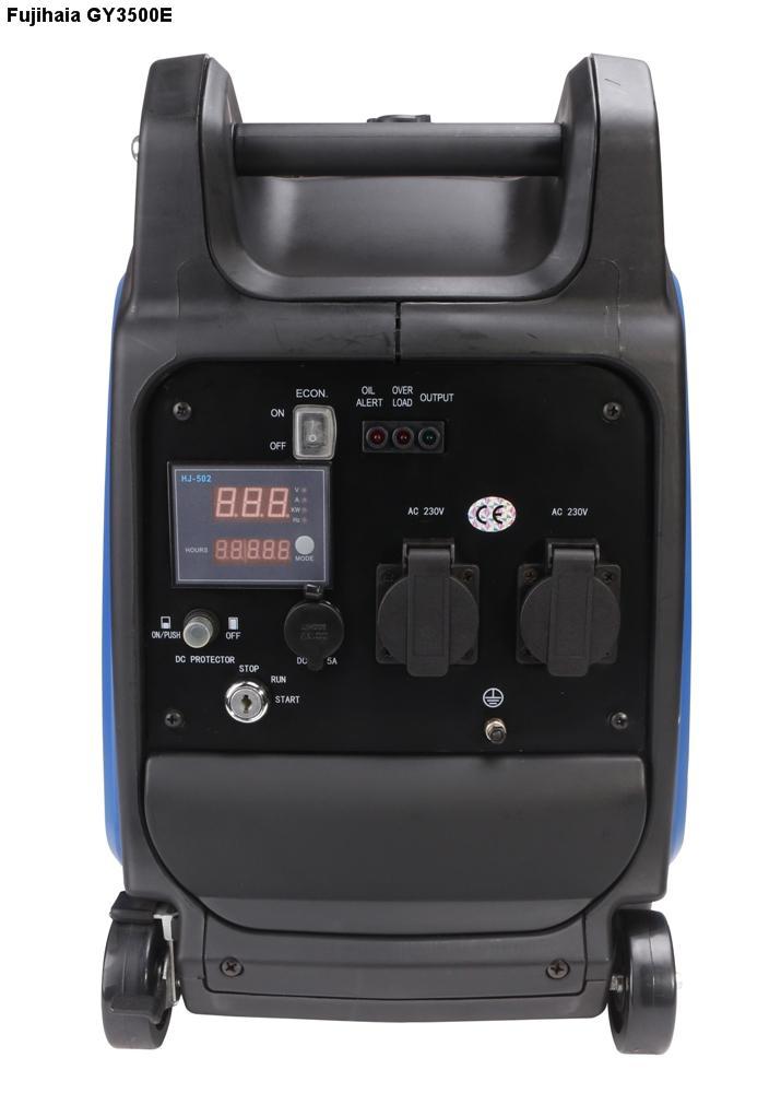 Máy phát điện biến tần kỹ thuật số FUJIHAIA GY3500E (3/3.5 KVA) / Đề nổ / LCD