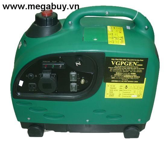 Máy phát điện biến tần kỹ thuật số VGPGEN1000D( 1 KW) giật nổ