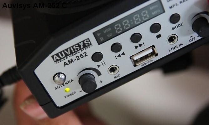 Máy trợ giảng cao cấp Auvisys USA AM-252