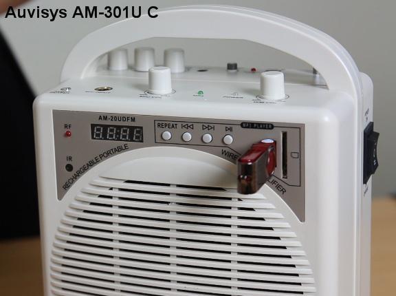 Máy trợ giảng cao cấp Auvisys USA AM-301U