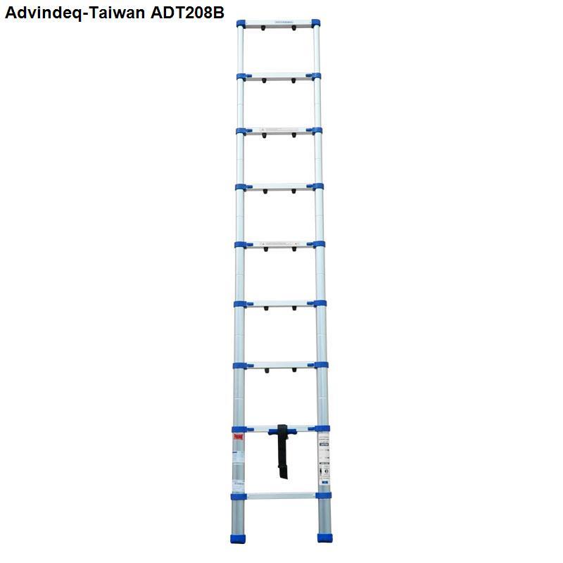 Thang nhôm rút gọn đơn Advindeq ADT208B
