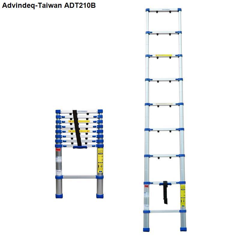 Thang nhôm rút gọn đơn Advindeq ADT210B