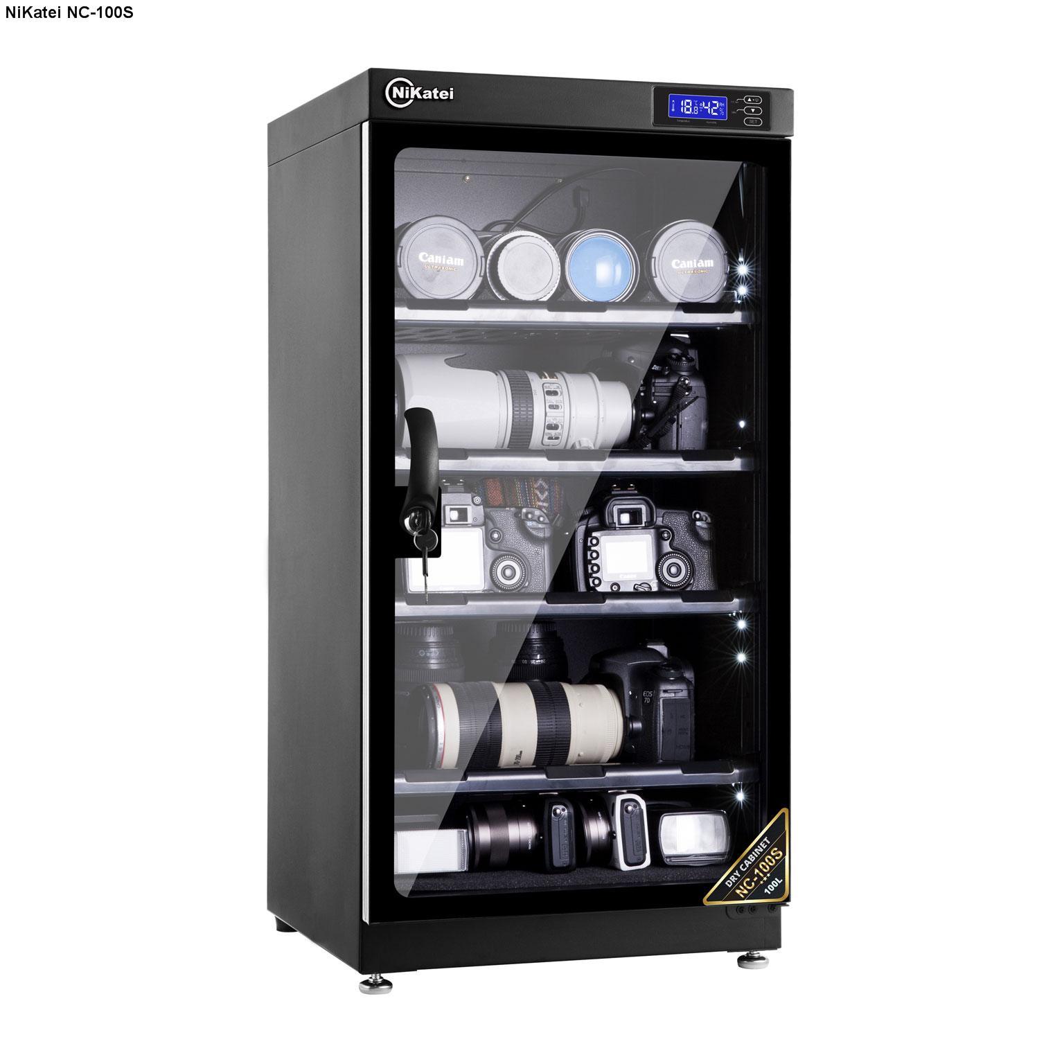 Tủ chống ẩm NIKATEI DCH080W (điện tử)