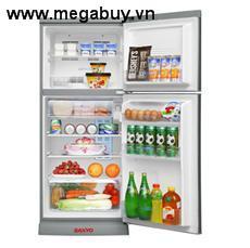 Tủ lạnh Sanyo SRU19JNSU 185L Tia cực tím, màu thép ko gỉ