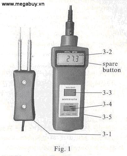 Máy đo độ ẩm TigerDirect HMMC7806