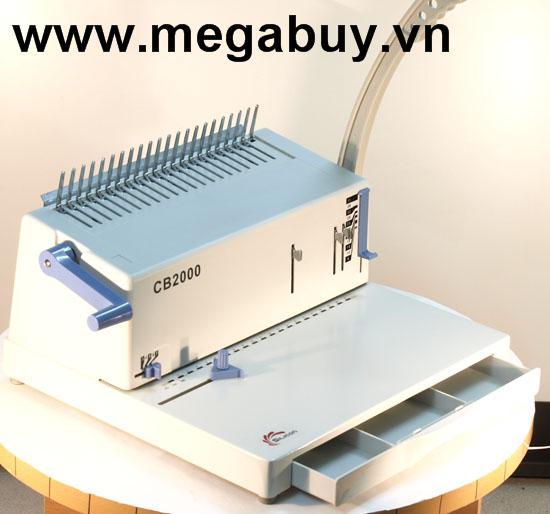 Máy đóng gáy xoắn Silicon BM-CB2000