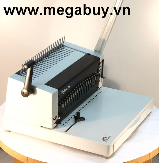 Máy đóng sách gáy nhựa Silicon BM-SUPER21
