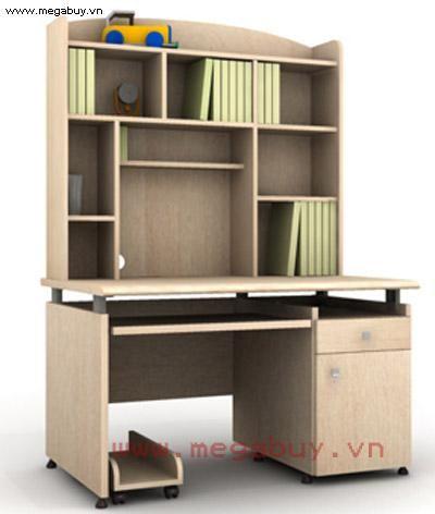 Bộ bàn học liền giá sách Fami ST12H-MB