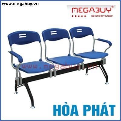 Ghế phòng chờ 3 chỗ Hòa Phát PC324-3