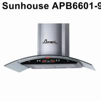 Máy hút mùi kính cong Apex APB6601-90C