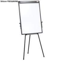 Bảng Flipchart  3 chân Silicon FB-33(60X90) new model