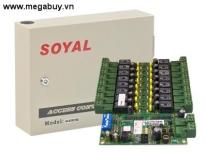 Bộ điều khiển phân tầng thang máy Soyal AR-401RO16