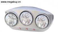 Đèn sưởi phòng tắm Braun 3 bóng BU03