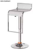 Ghế bar măt nhựa , khung sắt mạ B04