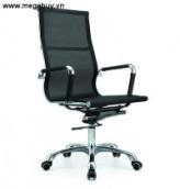 Ghế lưới lưng cao MGB03, màu đen