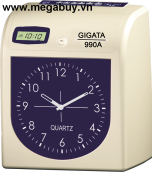 Máy chấm công thẻ giấy GIGATA-990A