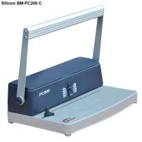 Máy đóng sách gáy xoắn cuộn Silicon BM-PC200