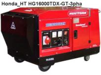 Máy phát điện Honda Hữu Toàn HG16000TDX, ( 3 pha,14.5KVA, giảm thanh)