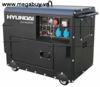 Máy phát điện DIESEL Huyndai-DHY6000SE-3 (6.3-6.9 KVA) chống ồn, đề nổ 3 pha
