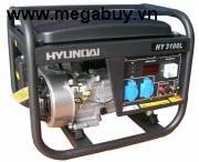 Máy phát điện Hyundai HY2500LE, 2 KW, xăng trần,đề nổ