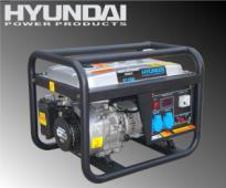 Máy phát điện Hyundai-HY3100LE (2.5-2.8 KW), xăng trần, đề nổ