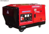 Máy nổ xăng giảm thanh 3 pha Hữu Toàn Kohler HK16000TDX,