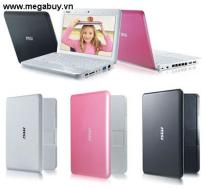 Máy tính xách tay (Laptop) MSI U100 N011-1217XVN (Pink Color)