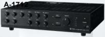 Tăng âm truyền thanh liền Mixer TOA A-1712