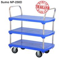 Xe đẩy hàng sàn nhựa SUMO Thái Lan NP-230D