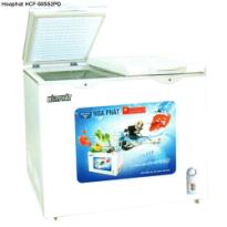 Tủ đông Hòa Phát HCF-505S2PĐ, 205 Lít (dàn đồng), 2 ngăn đông-mát