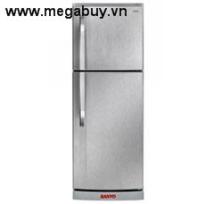 Tủ lạnh Sanyo SRU25MNSU 245 Lít, màu thép không gỉ