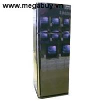 Tủ lạnh Sharp SJP405MBK - 367lít - Xanh đen tráng gương