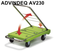 Xe đẩy hàng Đài Loan gấp siêu gọn ADVINDEQ AV230