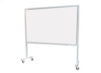Bảng di động có chân Hàn Quốc một mặt bảng màu trắng, 1225mm*1200mm