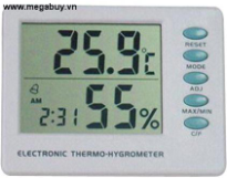 Đồng hồ đo độ ẩm TigerDirect HMAMT106