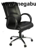 Ghế da xoay lưng cao chân hợp kim GX202A-HK