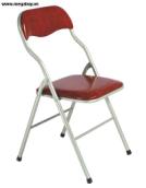 Ghế gấp sơn, mặt đệm GG01-S