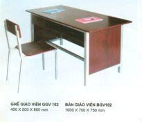 Bàn ghế giáo viên BGV102