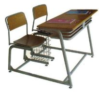 Bàn ghế học sinh trung học cơ sở BHS25